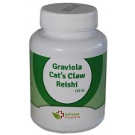 Graviola + Cat´s Claw /Mačací pazúr/ + Reishi kapsuly 120 ks