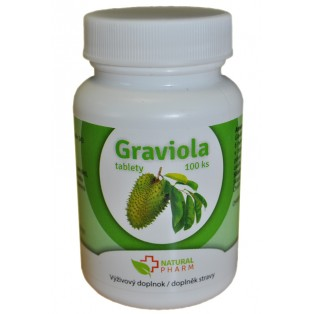 Graviola (annona muricata) tablety 100 ks