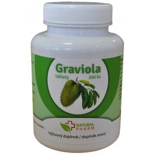 Graviola + Cat´s Claw /Mačací pazúr/ + Reishi tablety 200 ks