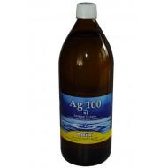 Koloidné striebro AG100 1000 ml 15 ppm - vypredané