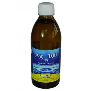 Koloidné striebro Ag100 300 ml 15 ppm - vypredané