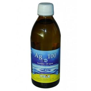 Koloidné striebro Ag100 300 ml 20 ppm - vypredané