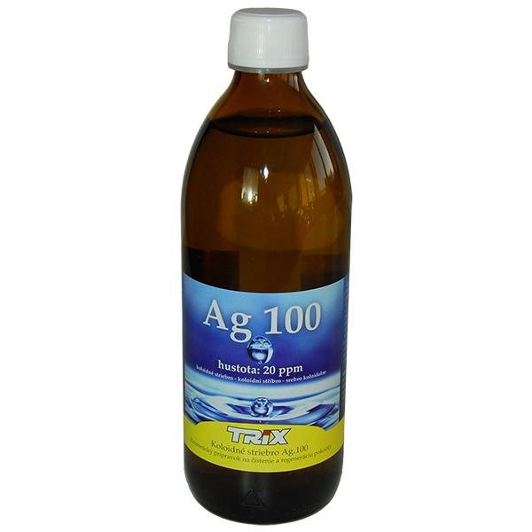 6f4aa5ee8 Koloidné striebro Ag100 100 ml 40 ppm sprej