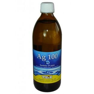 Koloidné striebro Ag100 500 ml 25 ppm