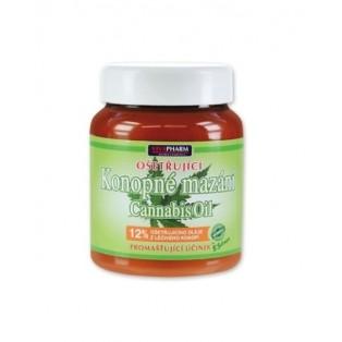 Konopné mazanie ošetrujúce 12% Cannabis oil 385 ml