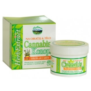 Pleťový krém Cannabis s konopným olejom 75 ml