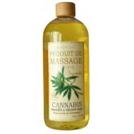 Masážny a telový olej Cannabis 1000 ml