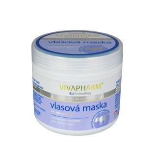 Kozia maska na vlasy regeneračná 600 ml